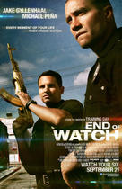 "Poster art for """"End of Watch."""
