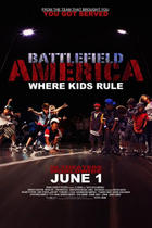 Poster art for &quot;Battlefield America.&quot;