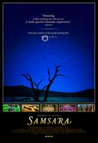 Poster art for &quot;Samsara.&quot;