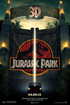 Poster art for &quot;Jurassic Park 3D.&quot;