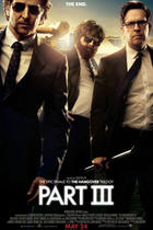 Poster art for &quot;The Hangover Part III.&quot;
