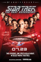 Poster art for &quot;Star Trek: The Next Generation 25th Anniversary Event.&quot;