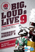 Poster art for &quot;DCI 2012: Big, Loud &amp; Live 9.&quot;