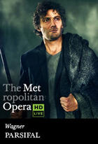 Poster art for &quot;The Metropolitan Opera: Parsifal.&quot;