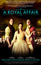 "Poster art for ""A Royal Affair."""