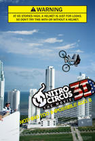 "Poster art for ""Nitro Circus: The Movie 3D."""