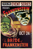 Poster art for &quot;TCM Presents Frankenstein/Bride of Frankenstein.&quot;