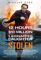 Poster art for &quot;Stolen.&quot;
