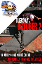 "Poster art for ""Maloof Cup World Skateboarding Championship Event."""