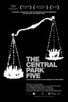 "Poster art for ""The Central Park Five."""