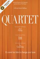 "Poster art for ""Quartet."""