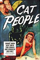"Poster art for ""Cat People."""