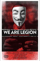 Poster art for &quot;We Are Legion: The Story of the Hacktivists.&quot;