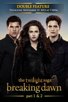 Poster art for &quot;The Twilight Saga Double Feature.&quot;