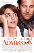 "Poster art for ""Admission."""
