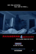 Poster art for &quot;Paranormal Activity 4: The IMAX Experience.&quot;