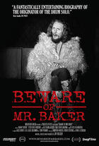 Poster art for &quot;Beware of Mr. Baker.&quot;