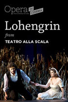 "Poster art for ""Lohengrin."""