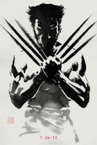 Poster art for &quot;The Wolverine 3D.&quot;