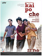 Poster art for &quot;Kai Po Che.&quot;