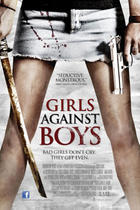 Poster art for &quot;Girls Against Boys.&quot;