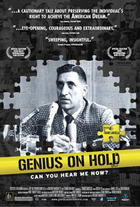 Poster art for &quot;Genius on Hold.&quot;