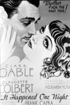 Poster artwork for &quot;It Happened One Night.&quot;