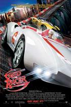 "Poster art for ""Speed Racer."""