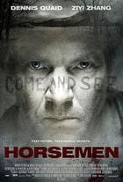 "Poster art for ""Horsemen."""