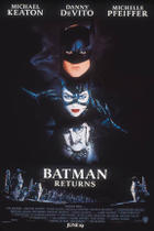 "Poster art for ""Batman Returns."""