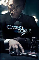 "Poster art for ""Casino Royale."""