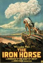 Poster art for &quot;The Iron Horse.&quot;