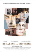 Poster art for &quot;Breaking and Entering.&quot;