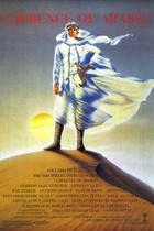 "Poster art for ""Lawrence of Arabia."""