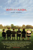 "Poster art for ""Death at a Funeral."""