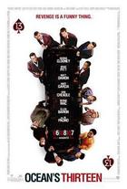 Poster art for &quot;Ocean&#39;s Thirteen.&quot;