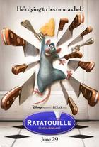 "Poster art for ""Ratatouille."""