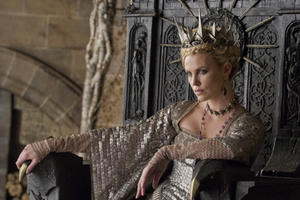 Charlize Theron as Queen Ravenna in ``Snow White and the Huntsman.''