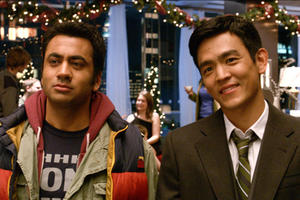 Kal Penn as Kumar and John Cho as Harold in ``A Very Harold &amp; Kumar Christmas.&#39;&#39;