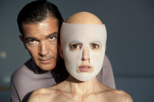 Antonio Banderas as Dr. Robert Ledgard and Elena Anaya as Vera in ``The Skin I Live In.&#39;&#39;