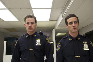 Channing Tatum as Jonathan White and James Ransone as Thomas Purdenti in ``The Son of No One.&#39;&#39;