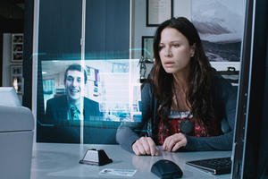 Rhona Mitra as Andie Rubin in ``Reuniting The Rubins.&#39;&#39;