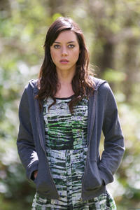 Aubrey Plaza as Darius Britt in ``Safety Not Guaranteed.&#39;&#39;