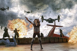 Milla Jovovich as Alice in ``Resident Evil: Retribution.&#39;&#39;