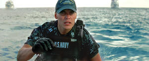 Taylor Kitsch as Alex Hopper in &quot;Battleship.&quot;