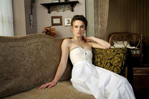 "Keira Knightley as Sabina Spielrein in ""A Dangerous Method."""