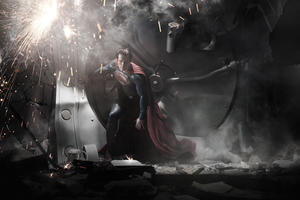 Henry Cavill as Superman in &quot;Man of Steel.&quot;