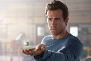 "Ryan Reynolds in ""Green Lantern 3D."""