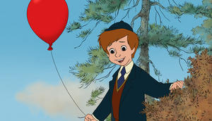 Christopher Robin in &quot;Winnie The Pooh.&quot;