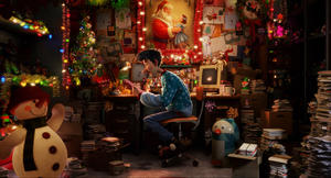 Arthur voiced by James McAvoy in &quot;Arthur Christmas.&quot;